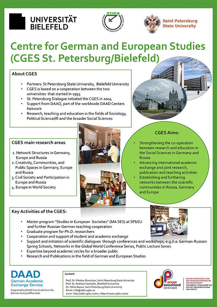 Centre for Germany and European Studies (CGES St. Petersburg/Bielefeld)